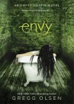 Jacket Design for Envy, YA Fiction, published by Splinter (an imprint of Sterling Children's Books)