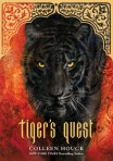 Jacket Design for the Tiger's Curse Series: Tiger's Quest, YA Fiction, published by Splinter (an imprint of Sterling Children's Books)