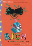 Jacket Design for Rich: A Dyamonde Daniel Book, Middle Grade Fiction, published by G. P. Putnam's Sons