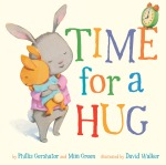 Picture Book Front Jacket Design for Time for a Hug, published by Sterling Children's Books