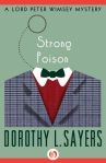 e-book cover design for a Dorothy Sayers series: Strong Poison (Open Road Media)