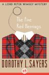 e-book cover design for a Dorothy Sayers series: The Five Red Herrings (Open Road Media)