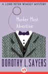 e-book cover design for a Dorothy Sayers series: Murder Must Advertise (Open Road Media)